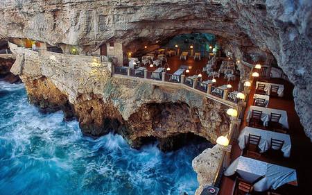 Italian Cave Restaurant Grotta Palazzese Polignano Mare 31 Italy0116