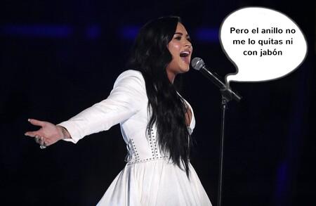 Demi Lovato y Max Ehrich rompen inesperadamente dos meses después de anunciar su boda: ¿acabará el pedrusco de pedida en Wallapop?