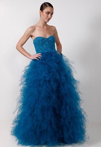 Los preciosos vestidos de Monique Lhuillier, colección Pre-Fall 2009