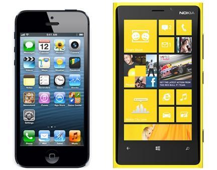 El Lumia 920 destrona al iPhone 5 en calidad de pantalla