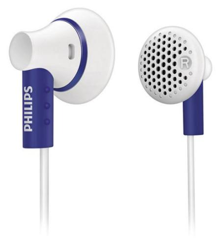 Philips SHE3000, auriculares intrauditivos para el día a día