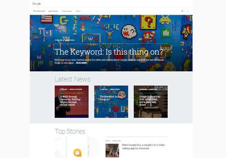 The Keyword Google Blog