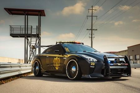 Los malos pueden temblar con Copzilla, un brutal Nissan GT-R a caballo entre Transformers y Mad-Max
