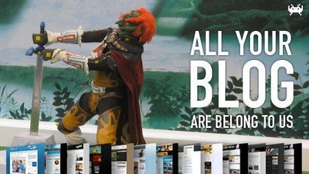 All your blog are belong to us (CXVIII)
