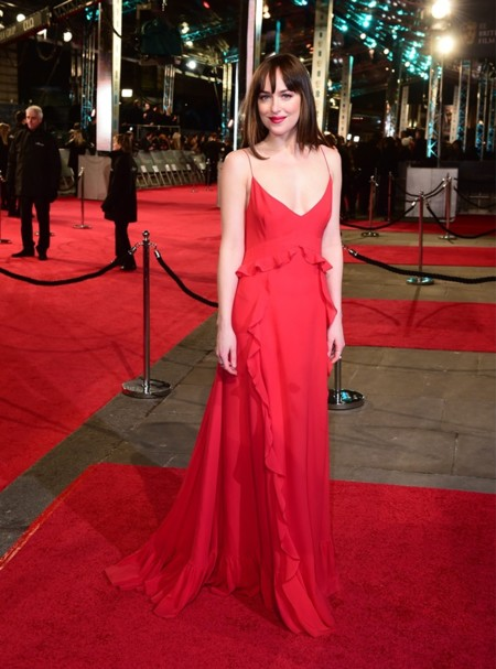 Dakota Johnson Bafta 201