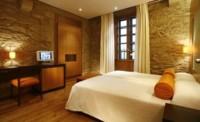 Estética wabi-sabi en el hotel Altaïr en el casco histórico de Santiago de Compostela