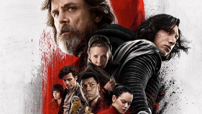 Last Jedi Poster Tall