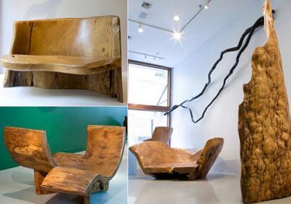 Muebles de lujo… ecológicos