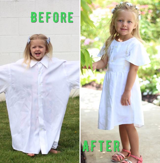 camisa-transformada-en-vestido