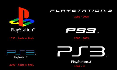 sony cambia el logo de ps3 por tercera vez en tres a241os y
