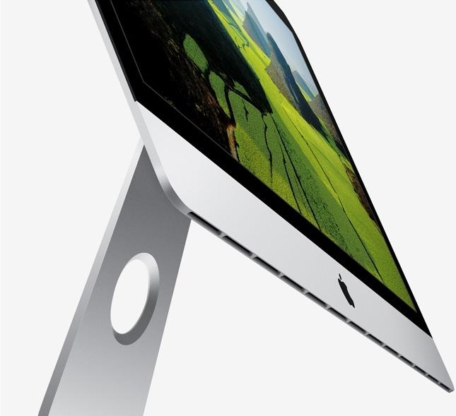 diseño delgado de los nuevos imac de Apple