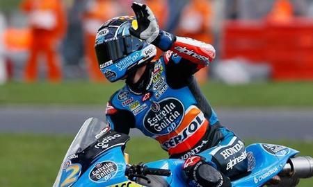 Alex Marquez Moto3 Valencia 2014
