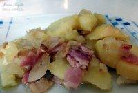 Receta de ensalada de patatas con beicon ahumado