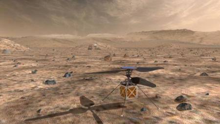 La NASA tiene un nuevo plan para los drones: que sean sus ojos en Marte