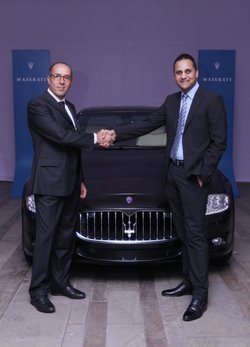 Maserati se introduce en el subcontinente indio
