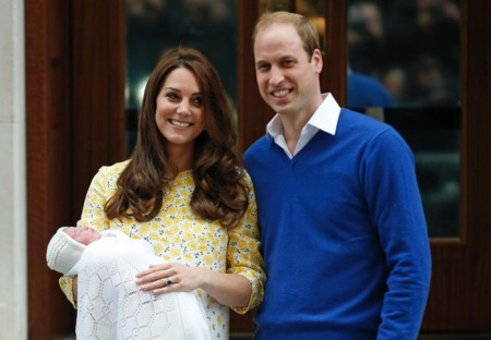 Prince William Kate Middleton Newborn Daughter