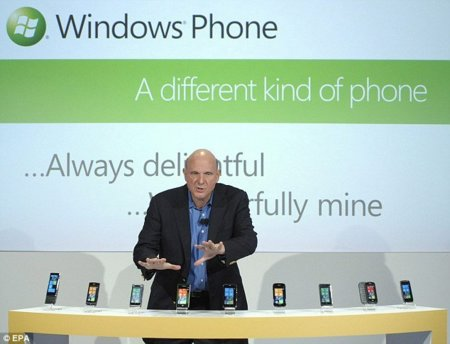 Windows Phone 7: 40.000 teléfonos vendidos en EEUU, con 2.000 aplicaciones disponibles