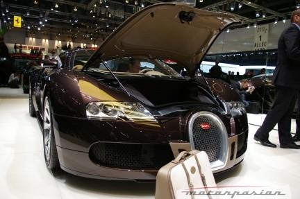 "Bugatti Veyron ""Fbg par Hermès"" en el Salón de Ginebra"