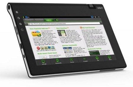 El tablet Adam 2 quiere ser realidad en Navidades