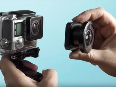Lensbaby Circular 180+ es el proyecto de objetivo ultra gran angular diseñado para GoPro Hero