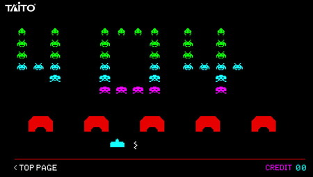 La web de Taito actualiza su página de error 404 para poder jugar gratis al mítico Space Invaders