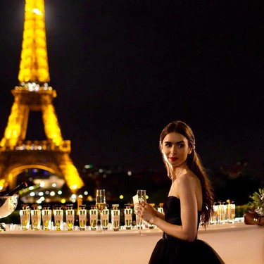 'Emily en París', la nueva y apetecible serie romántica del creador de 'Sexo en Nueva York', se estrenará en Netflix este otoño