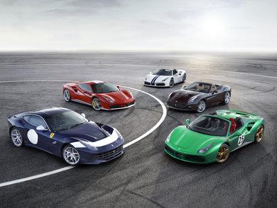 ¡Quién pudiese! Estos Ferrari edición limitada son tan exclusivos que (seguramente) solo los verás en fotos