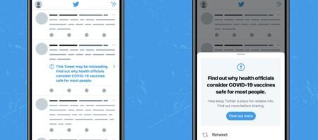 Twitter eliminará las cuentas de los usuarios que considere que han desinformado cinco veces sobre la vacuna de la COVID-19