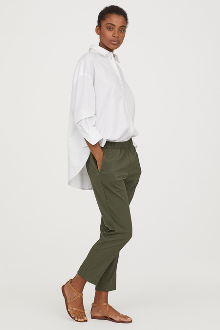 pantalon traje cintura elastica