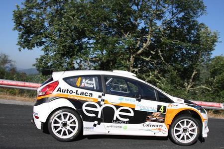 Miguel Fuster logra la primera victoria del Ford Fiesta R5 en Ourense