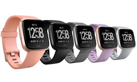 Hoy en Amazon, tienes rebajados varios colores del Fitbit Versa a sólo 129,95 y 139,95 euros