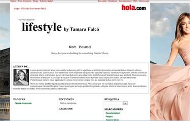 Probando, probando... que soy Tamara Falcó, o sea