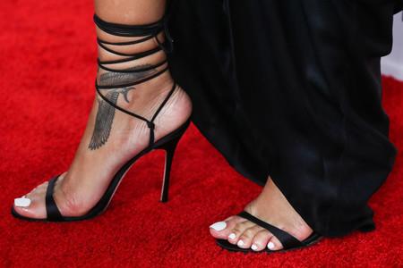 Rihanna Pedicura
