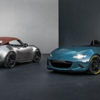 Mazda MX-5 Spyder y MX-5 Speedster, dos interesantes y ligeros prototipos desde el SEMA