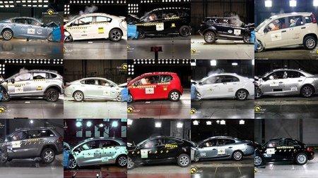 Última tanda EuroNCAP: Fiat Panda, Jeep Grand Cherokee, Jaguar XF y Renault Fluence ZE salen perdiendo con cuatro estrellas