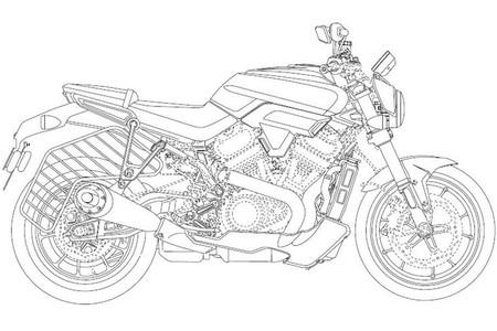 Harley Davidson Patent 14