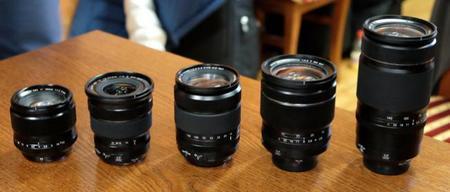 Primeras imágenes y fecha de lanzamiento de los nuevos objetivos XF de Fujifilm