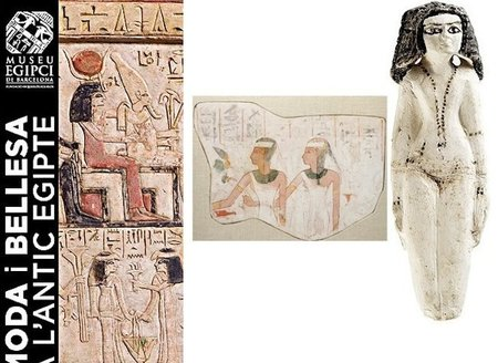 """""""Moda y Belleza en el antiguo Egipto"""" en el Museo Egipcio de Barcelona"""