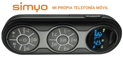 Simyo también presenta su nuevo módem usb: Toshiba G450