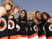 Paddock girls de Qatar