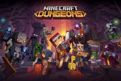 Análisis de Minecraft Dungeons, un juego fantástico lastrado por el mismo problema de siempre: su duración