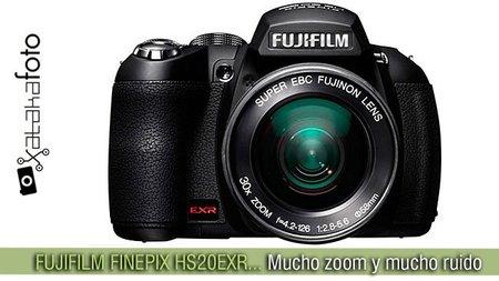 Fujifilm Finepix HS20EXR: Mucho zoom y mucho ruido