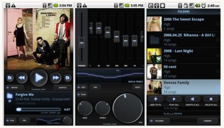 PowerAMP para Android, un nuevo y potente reproductor musical