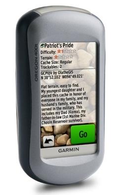Garmin Oregon, GPS para montaña