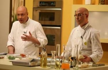 """""""Hermanos en la cocina"""": dos chefs colombianos con su propio programa de televisión"""
