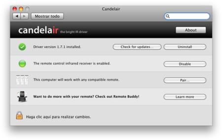 Candelair, solución al problemas de la tecla play del Apple Remote y iTunes