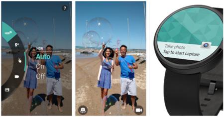 Motorola cámara se actualiza a Material Design