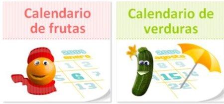 Calendario de frutas y verduras de temporada para comer sano y barato