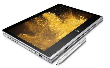 EliteBook x360, el nuevo convertible empresarial de HP es más delgado, potente y anti-mirones