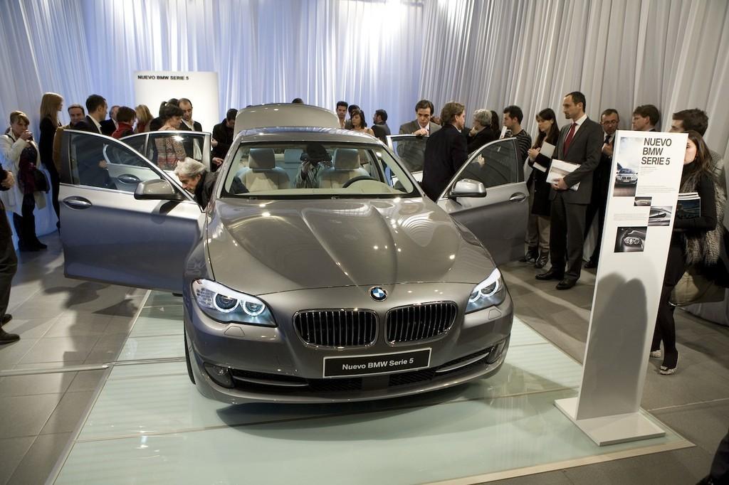 Foto de BMW Serie5 presentación estática en Madrid (7/9)